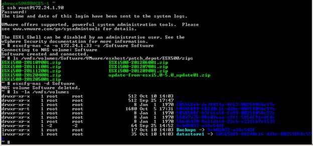 ESXi5 and Windows CIFS - softwareab